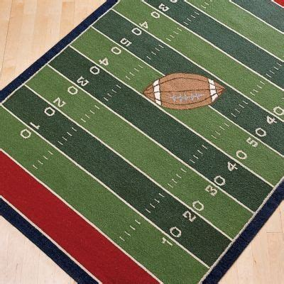 football rug home decor