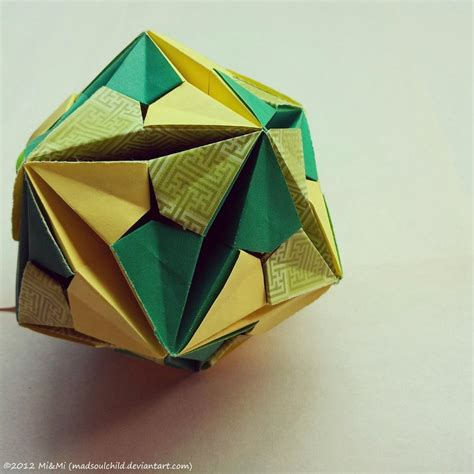 Origami Module - modular origami inverted andromeda by madsoulchild on