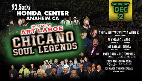 chicano soul legends dec  honda center