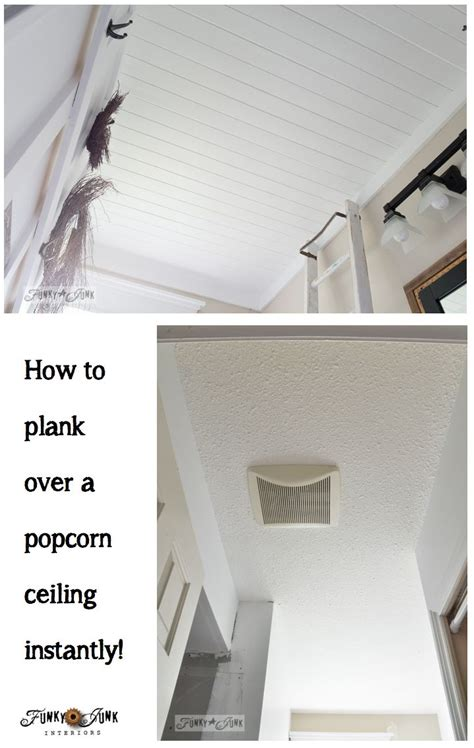 Is Popcorn Ceiling Safe by 1000 Ideas About Wood Plank Ceiling On Plank
