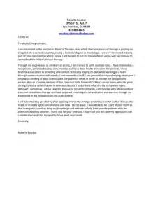 Exle Of The Cover Letter by Assistant Therapist Resume Sales Therapist Lewesmr