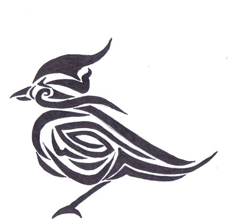 duck tribal tattoo birds tattoos for you pictures of tribal bird tattoos