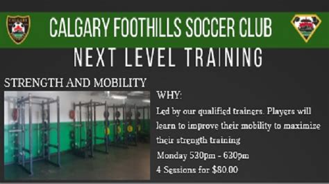 Release Letter Uws Calgary Foothills Soccer Club Home