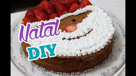 youtube de bolos decorados bolo decorado de papai noel diy especial de natal youtube