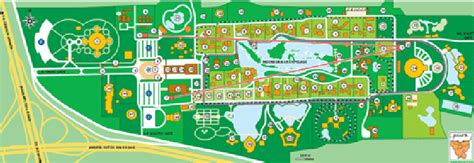 Layout Taman Mini Indonesia Indah | plan of beautiful indonesia miniature park taman mini