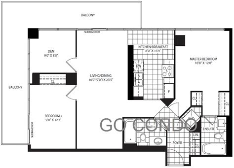 toronto floor plans verve condo floor plans toronto