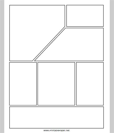 layout templates for print comic strip template free premium templates