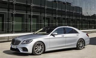 Mercedes Classe S 2018 Mercedes S Class Revealed Debuts New Inline Six