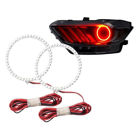 halo lights for mustang oracle lighting 174 ford mustang 2015 color halo kit for