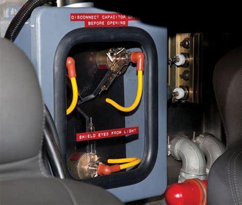 mcdonald flux capacitors quot back to the future quot delorean time machine up for auction tv