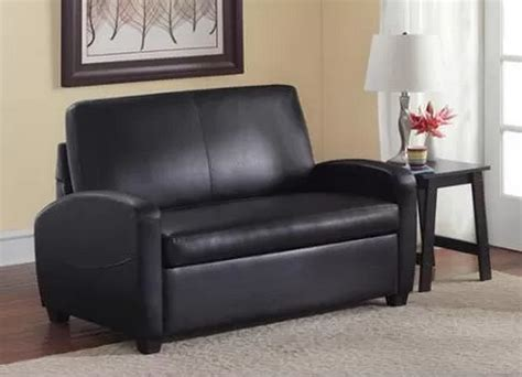 Loveseat Sofa Beds Black Sofa Sleeper Loveseat Convertible Bed Mattress Small Space Beds Ebay