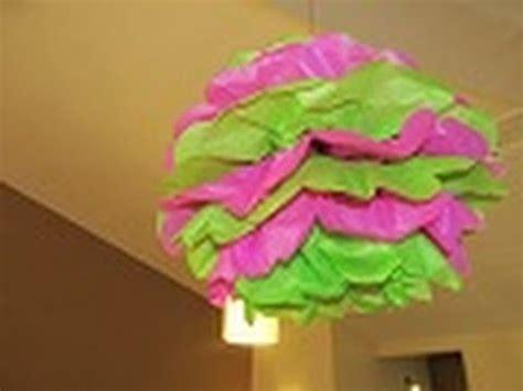 como hacer mangas de rumbero papel crepe como hacer pompones de papel decorativos para todo tipo