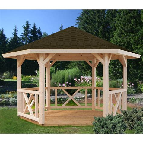 large gazebo 23 wonderful large garden gazebos pixelmari