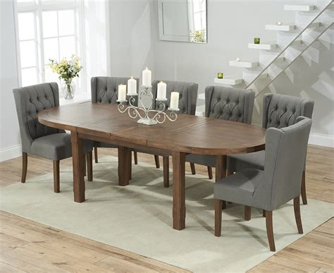 oval dining chairs grey oak dining table gray dining buy mark harris cheyenne solid dark oak dining set oval
