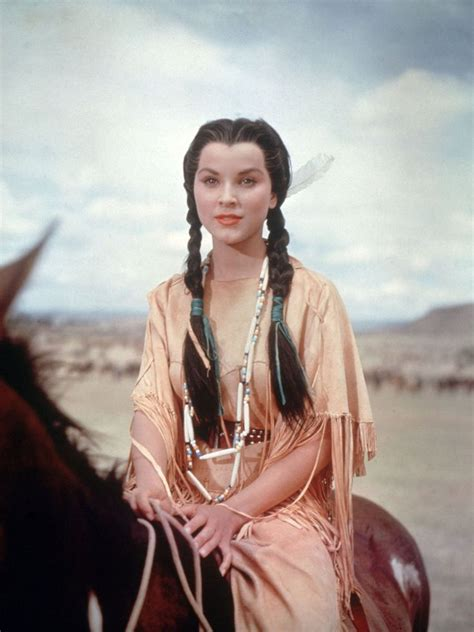 western film heroines 74 best debra paget in color images on pinterest