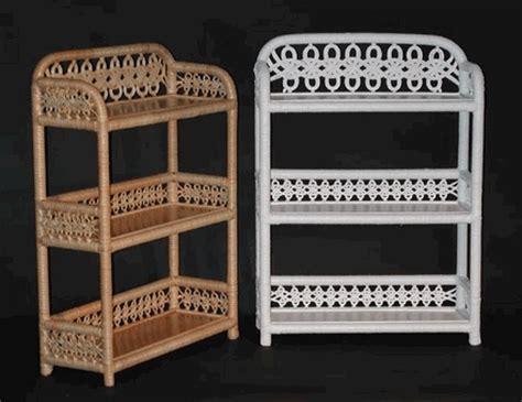 Wicker Bathroom Wall Shelves 3 Tier Wall Shelf Via Wickerparadise Bathroom Wicker Shelf Lace Www Wickerparadise