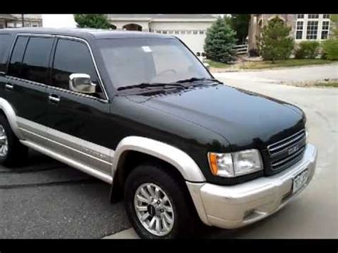 how petrol cars work 2001 isuzu trooper on board diagnostic system suv for sale 2001 isuzu trooper low miles best offer youtube