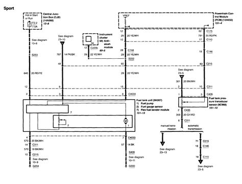 need a wiring diagram for a fuel for a 2003 explorer