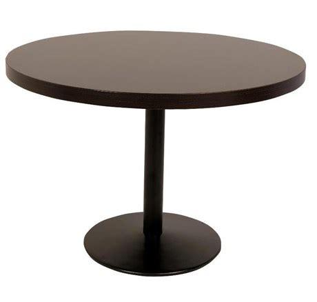 metro fr table de restaurant ronde durolight weng 233 et