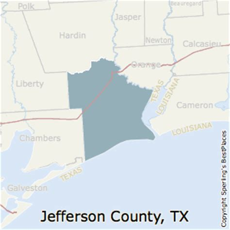 map of jefferson texas best places to live in jefferson county texas