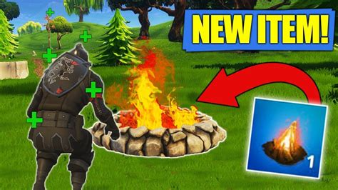 fortnite muselk the new cozy cfire item new fortnite uppdate