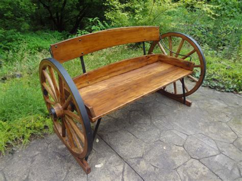 rustic wagon wheel bench wagon wheel bench very rustic very well made