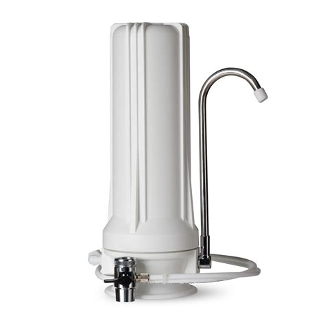 Multi Countertop Water Filter by Ispring Ct10 W Countertop Multi Filtration Water