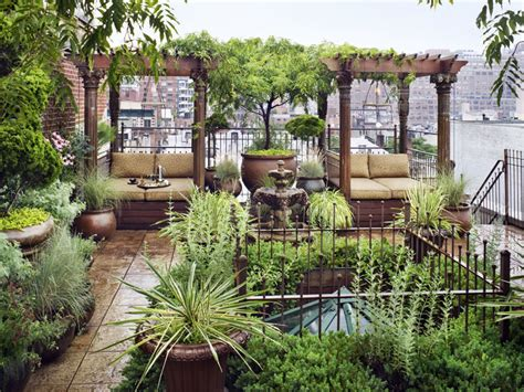 Three Sons Garden City by New York City Penthouse With A Garden Paradise