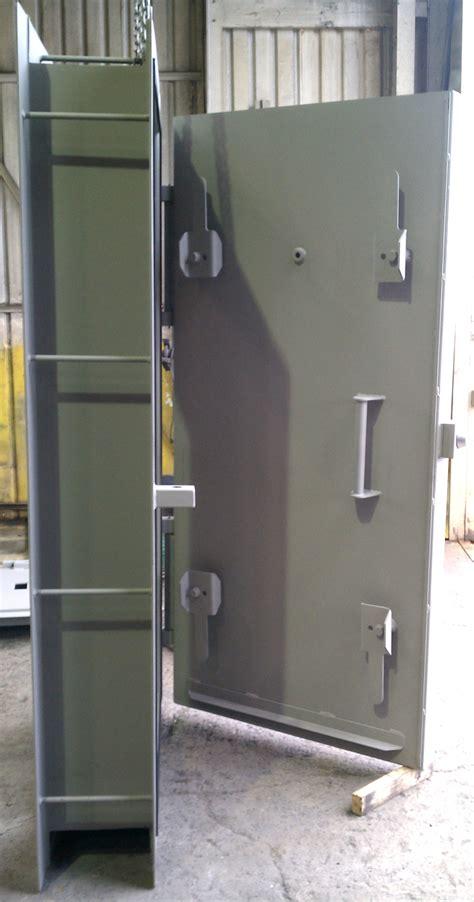 Blast Door by Bunker Doors Royalty Free Stock Photo
