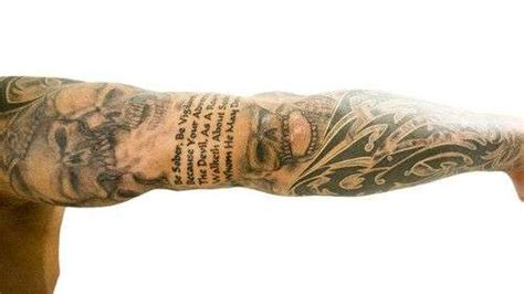 randy orton tribal tattoo randy orton tattoos what do they