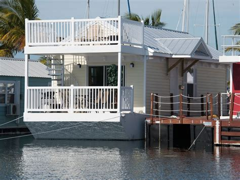 boat house for rent the yellow tail at the stock island marina village 1 br vacation house boat for rent in key