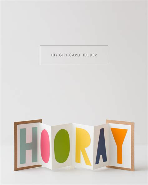Diy Gift Cards - diy gift card holder kaley ann