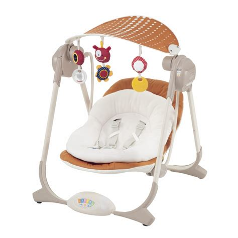 chicco swing polly chicco polly swing 2015 orange buy at kidsroom brand