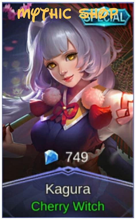 kagura cherry witch jual cherry witch special skin kagura dari mythic shop