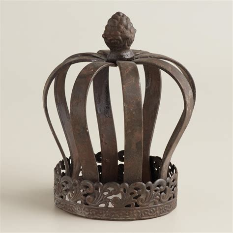 crown decor queen iron crown decor world market