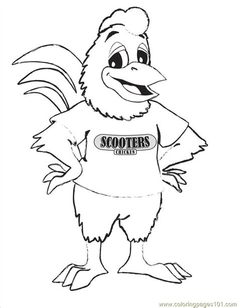 chicken dance coloring page free coloring pages of the chicken