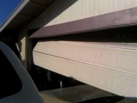 broken garage door cable garage door repair broken cable mov