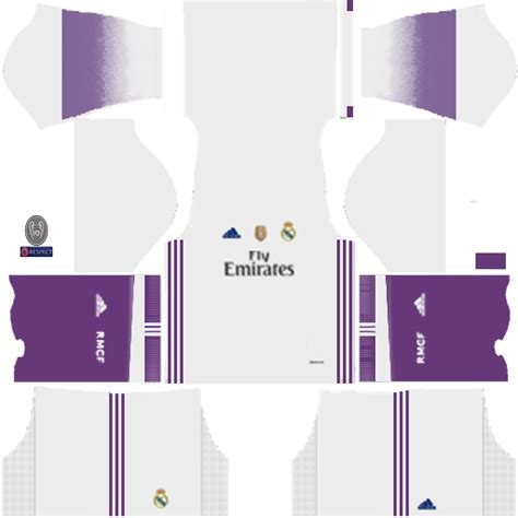 kit real madrid 512x512 dream league soccer 16 uniformes del real madrid
