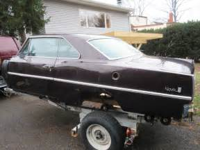Chevrolet Cars For Sale 1967 Chevrolet Rod Project For Sale