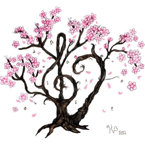cherry tree notes tree tattoos and piercings trees beautiful and plays