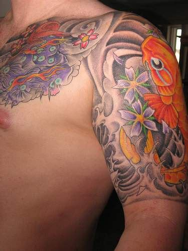Yakuza Tattoo Fish | koi fish and demon yakuza tattoo tattooimages biz