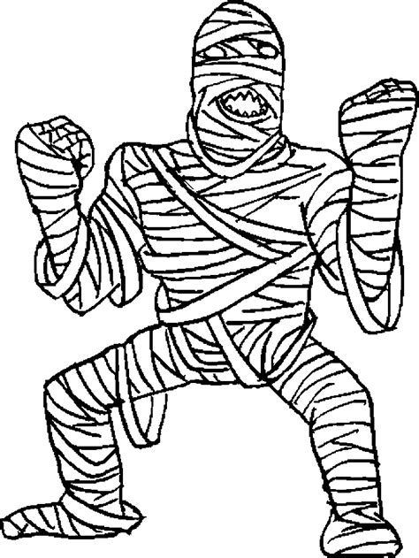 mummy coloring pages halloween free coloring pages of mummy elephant