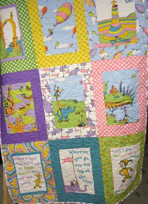 Teal Patchwork Quilt - baby quilt patchwork quilt baby dr seuss quilt baby