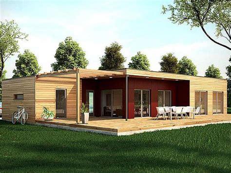 casa madera moderna casa modular de madera toledo 110m2 moderna terraza