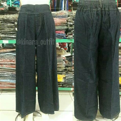 Celana Ballotely celana kulot panjang bahan shopee indonesia