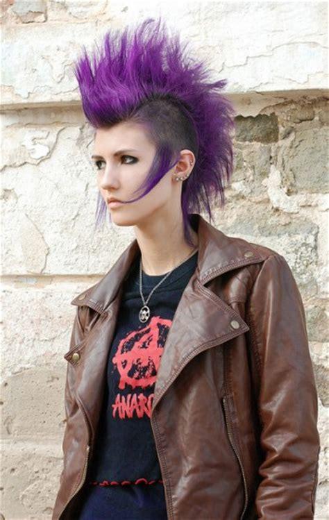 punky haircuts for medium length hair punk rock hairstyles beautiful hairstyles