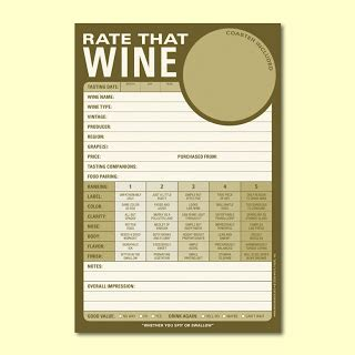 wine tasting notes template blank wine tasting notes template