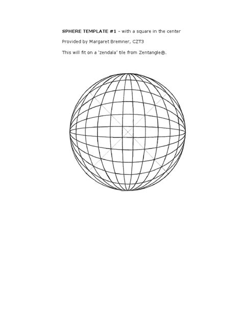 paper sphere template 8 best images about spheres on paper need to