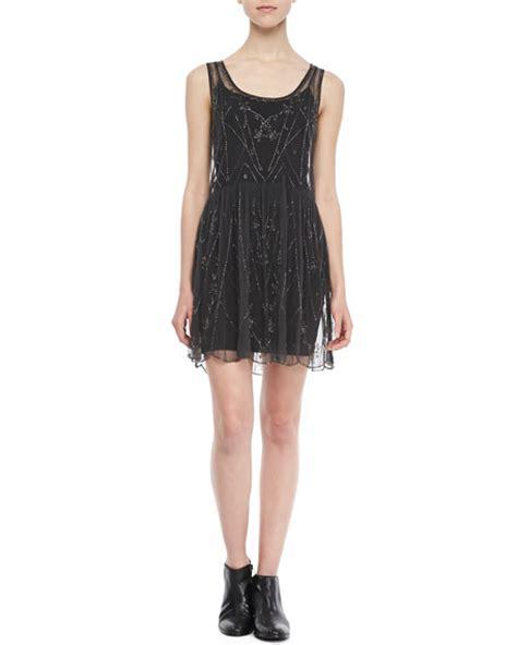 free beaded dress free sleeveless beaded slip dress