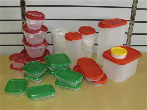 Tupperware Ikea lot detail large assortment of storage containers